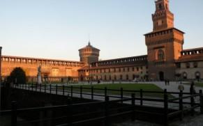 Sforcų pilis Milane – didžiausias miesto muziejų kompleksas