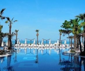 SUPER VIEŠBUTIS! Tik nuo 469 € už 5* poilsį ALBANIJOJE, GRAND BLUE FAFA viešbutyje su AI