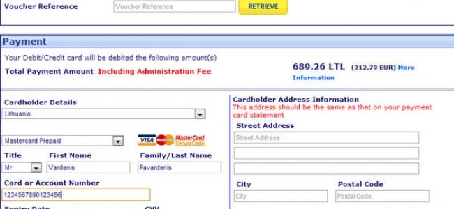 Būk atidus! Ryanair valiutos konvertavimas perkant bilietus
