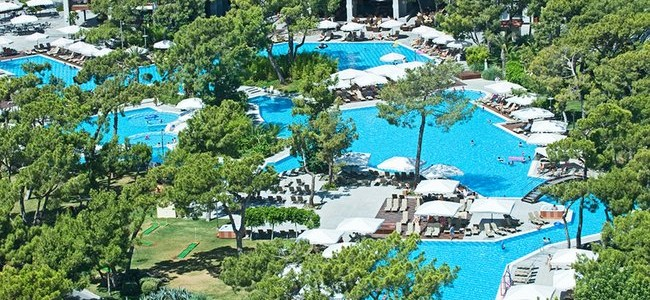IŠANKSTINIAI PARDAVIMAI! VIP POILSIS TURKIJOJE! Tik nuo 443 € už 7 n. poilsį prabangiame RIXOS SUNGATE 5* viešbutyje