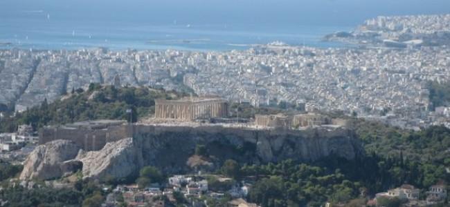 Žvalgantis po Atėnų Akropolį