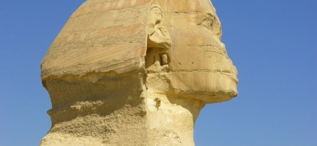 Kelionės po Egiptą. Didysis Gizos sfinksas