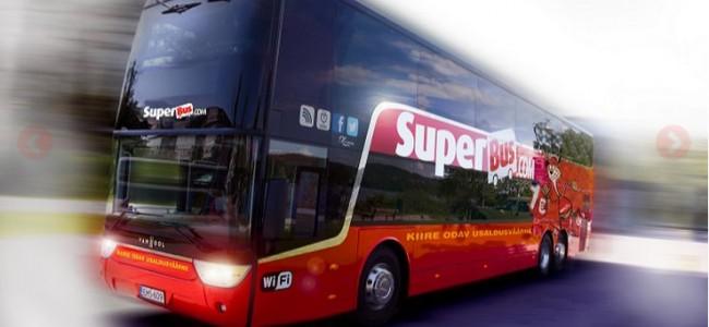 Superbus.com – autobuso bilietai tarp Vilniaus, Rygos Talino, Varšuvos nuo 1 €