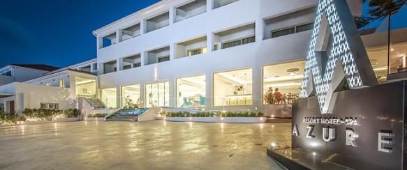 TURIZMO PARODOS PASIŪLYMAS! ZAKINTAS! 7 n. Azure Resort 5* viešbutyje su AI maitinimu tik nuo 412 €/asm.