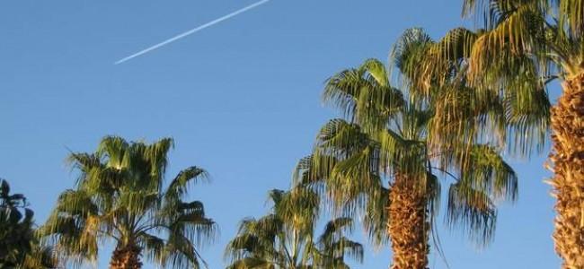 Vidutinė oro ir vandens temperatūra Šarm El Šeiche