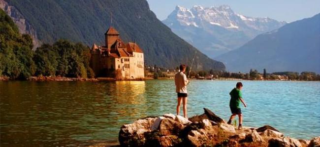 Šiljono pilis – tai ką verta pamatyti Šveicarijoje