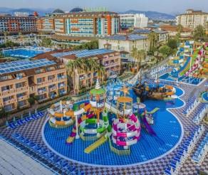 TURKIJA! Poilsis populiariame LONICERA WORLD 4* su ULTRA viskas įskaičiuota tik nuo 360 €/asm.