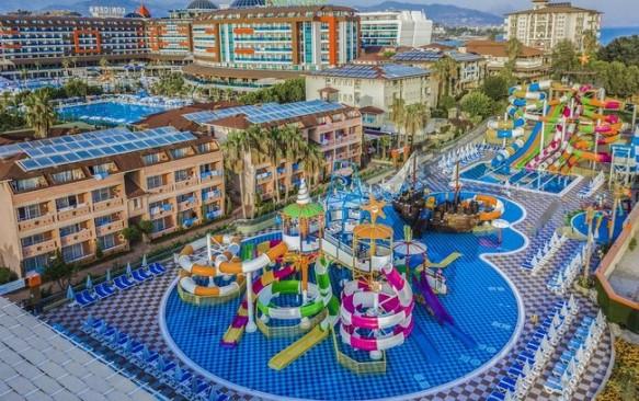 SUPER KAINOS! 2020 m. sezonas! TURKIJA! Poilsis populiariame LONICERA WORLD 4* su ULTRA viskas įskaičiuota tik nuo 341 €/asm.