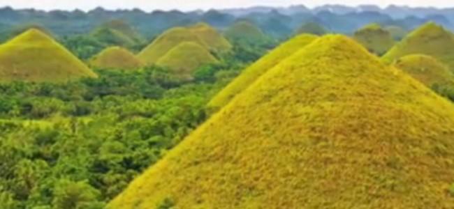 Legendų apipintos Šokolado kalvos Filipinuose