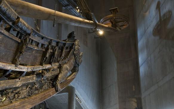 Vaza muziejus Stokholme – laivo istorija kaip ant delno