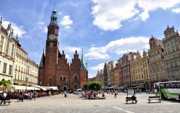 Vroclavo Turgaus aikštė – miesto širdis