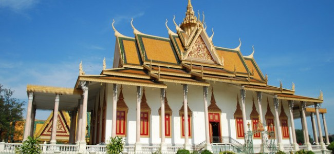 Kambodžos įdomybės – Sidabrinė pagoda