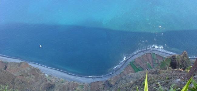 Madeiros sala. Svaiginantis Kabo Žirao (Cabo Girao) iškyšulys