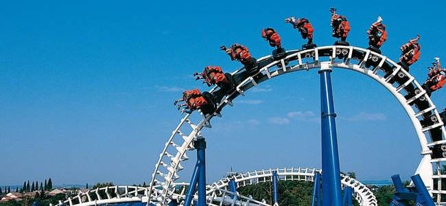 Gardalendas – populiariausias atrakcionų parkas Italijoje