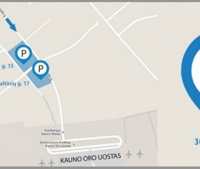 Parkavimas Kauno oro uoste 20% PIGIAU: savaitei tik 26 €! Tas pats UNIPARK parkavimas pas mus su nuolaidos kodu pigiau nei užsakant unipark.lt