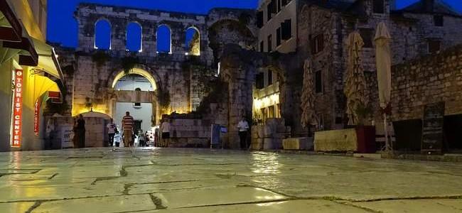 Diokletiano rūmai – ne tik Splito, bet ir visos Kroatijos įžymybė