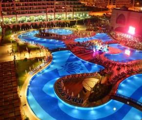 SUPER KAINA! 7 n. Xafira Deluxe 5* viešbutyje Turkijoje su UAI maitinimu tik nuo 464 €/asm.
