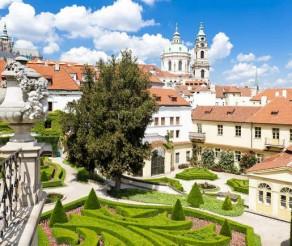 Prahos Vrtba sodai – tai, ką verta pamatyti Čekijos sostinėje