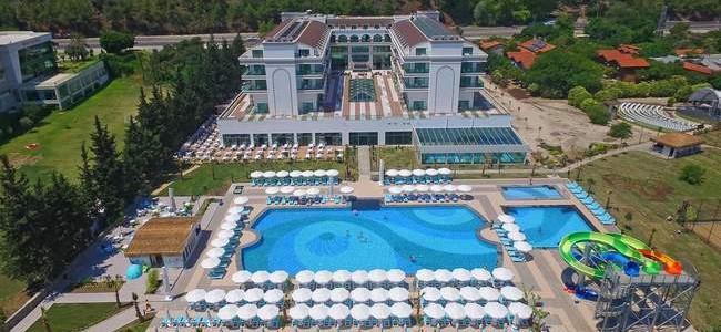 7 n. atostogos Turkijos Dosinia Luxury 5* viešbutyje su UAI maitinimu tik nuo 442 €/asm.