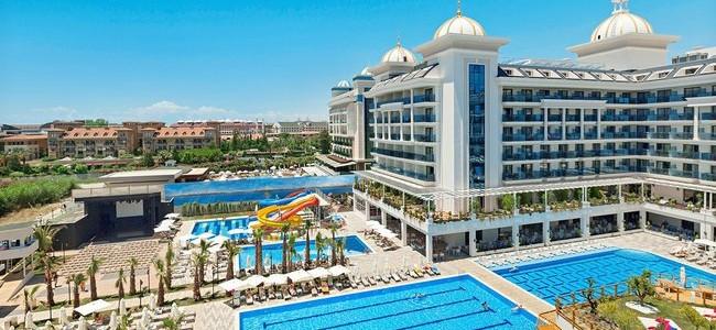 2020 m. sezonas! 7 n. kelionė į Turkiją: 5* viešbutis Side La Grande Resort su viskas įskaičiuota tik nuo 372 €/asm.