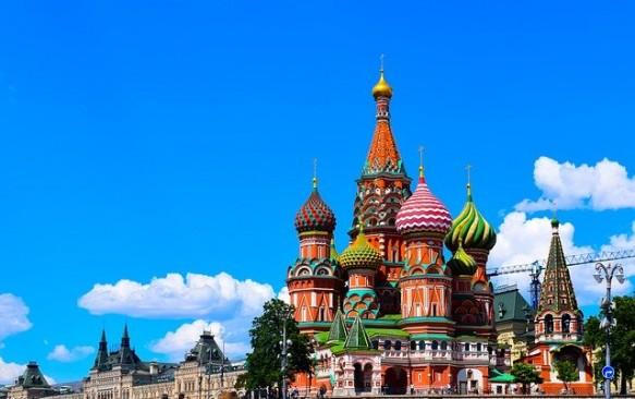 Vasilijaus Palaimintojo soboras (Pakrovskio cerkvė) Maskvoje – viena gražiausių šventyklų Maskvoje
