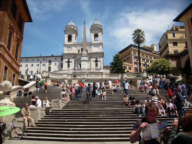 ispaniski laiptai romoje