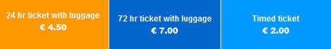 Bergamo bilietų kainos