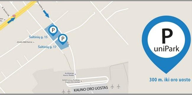 parkavimas kauno oro uoste
