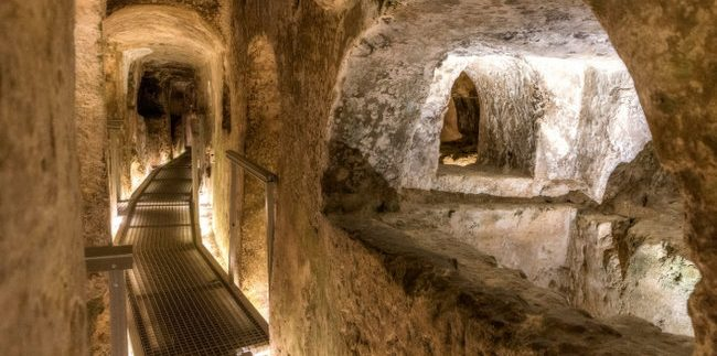 pauliaus katakombos Maltoje