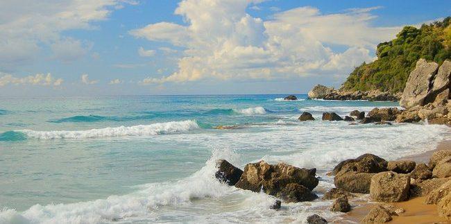 pamatyti Korfu saloje